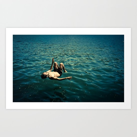 in the mood for water I Art Print