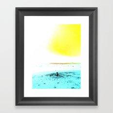 The World is your Sandbox Framed Art Print