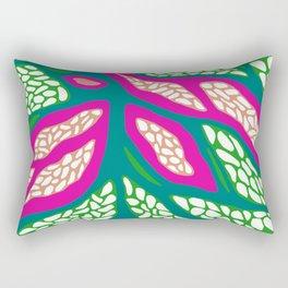 Root Paths Rectangular Pillow