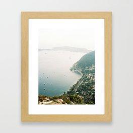 Eze Village, French Riviera Framed Art Print