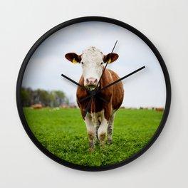 Die Kuh macht Muh Wall Clock
