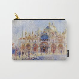 Auguste Renoir - The Piazza San Marco in Venice Carry-All Pouch
