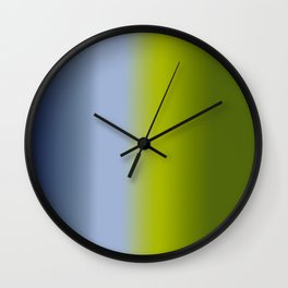 Ombre Summer Breeze 1 Reversed Wall Clock