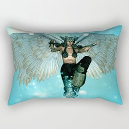 Wonderful angel in the sky Rectangular Pillow