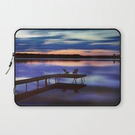 Loon Lake Sunset Laptop Sleeve