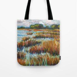 Cape Fear Estuary Tote Bag