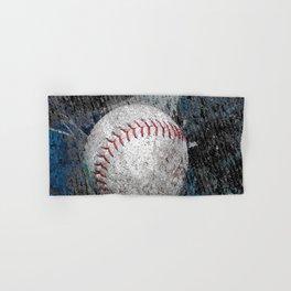 Baseball print work vs 1 Hand & Bath Towel