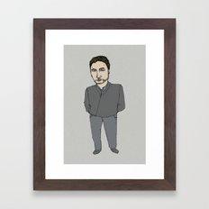 seriese-TV Framed Art Print
