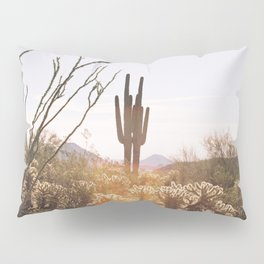cactus in the desert Pillow Sham