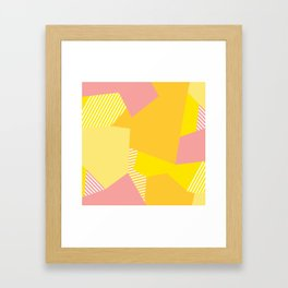 Peachy to the Max Framed Art Print