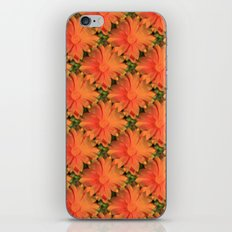 Orange Daisy iPhone & iPod Skin