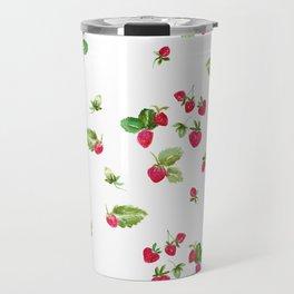 Strawberry Toss Travel Mug