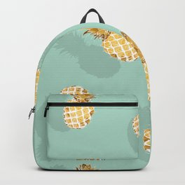 Golden pineapple Backpack