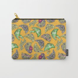 """""""Oro?"""" Cactus with Flower Mustard Carry-All Pouch"""