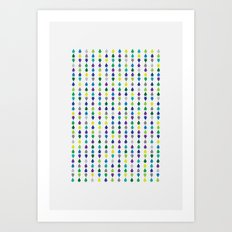 Arrows by the million Art Print