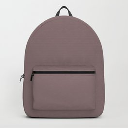 Grape Vine Purple Solid Color Inspired by Behr Plumville N120-5 Backpack