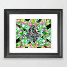 LANDING-INVERT Framed Art Print
