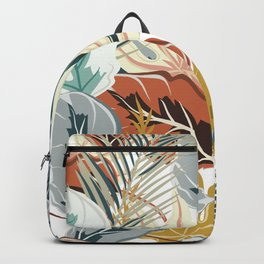Tropical Wild Jungle Backpack