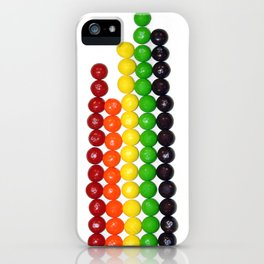 Skittle Stats iPhone Case