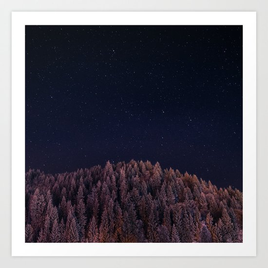Seize The Night Art Print