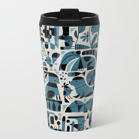 COMPLEXITY Metal Travel Mug