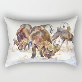 Bighorn sheep Rectangular Pillow
