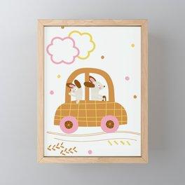 Little City Framed Mini Art Print