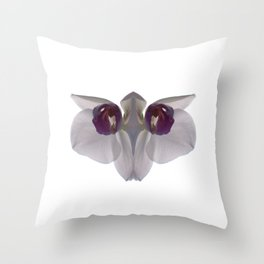 Floral Monster 03 Throw Pillow