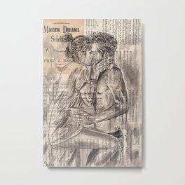 Morning Kiss Metal Print