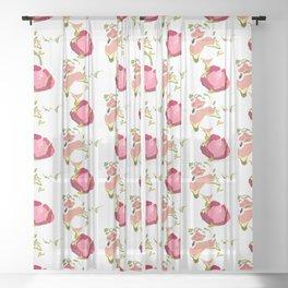 Dragonfruit Sheer Curtain