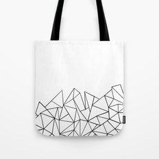 Ab Peaks White Tote Bag