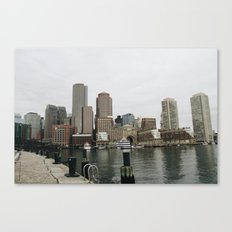 The City In November Canvas Print