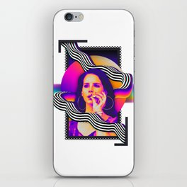 Lana - Pyschedelic iPhone Skin