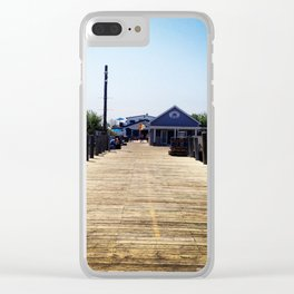 Kismet Fire Island Clear iPhone Case