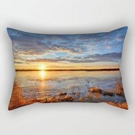Winds On Big Marsh Rectangular Pillow