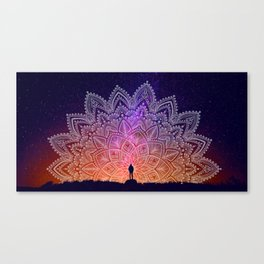 One with the Universe Canvas Print