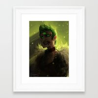acid Framed Art Prints featuring Acid by pearlie