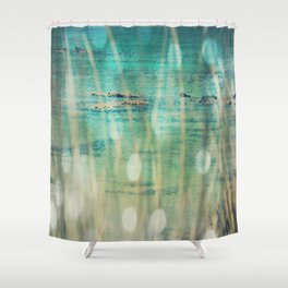 Turquoise Dreams Shower Curtain