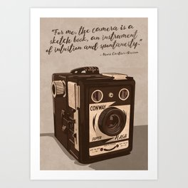 Intuition and Spontaneity Art Print