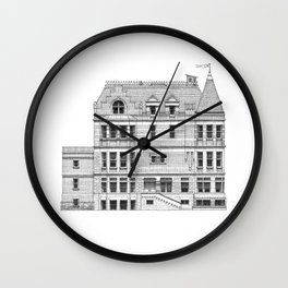 New York Royal Residence Wall Clock