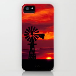Carol M Highsmith - Windmill, Colorado iPhone Case