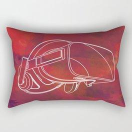 Virtual reality mask Rectangular Pillow
