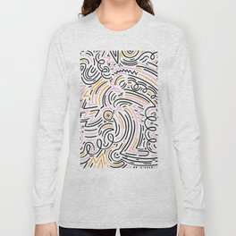 squiggle wiggles Long Sleeve T-shirt