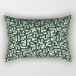 shapes and leaves Rectangular Pillow