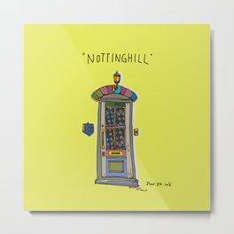 nottinghill door2 Metal Print