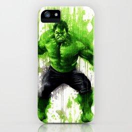 Hulk Splash! iPhone Case