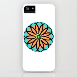 Mandala Design 1 iPhone Case