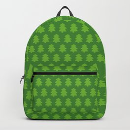 Evergreen Forest Pattern Backpack