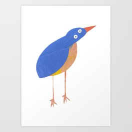 Mr Kingfisher Art Print