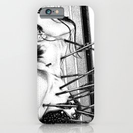 asc 778 - La lione blessée (Love is a killer) iPhone Case
